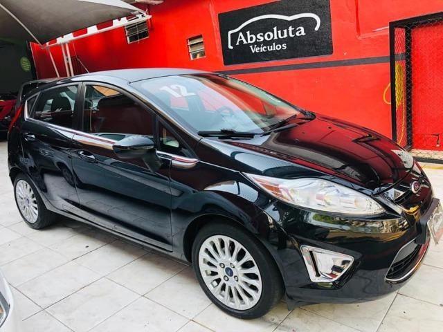 Fiesta 2012 new 1.6 flex completo + rodas de liga, carro impecável !!! - Foto 3