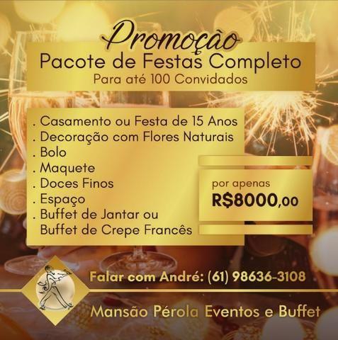 Promoçao Casamentos aniversarios festas