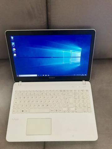 Notebook Sony vaio i5, parcelo no cartão - Foto 3