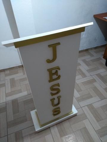 Púlpito para igreja