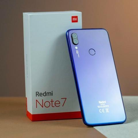 Xiaomi Redmi Note 7 Tela 6.3 4gb/64gb Dual Sim Versão Global -Azul - Foto 5