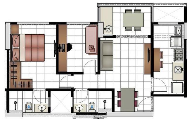 Residecial You na Vila dos ALpes - 2 quartos com suite e Armários ( Aceitamos Proposta) - Foto 18