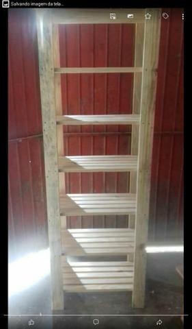 Araras em madeira - Foto 5