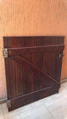 Portão de madeira - Foto 3