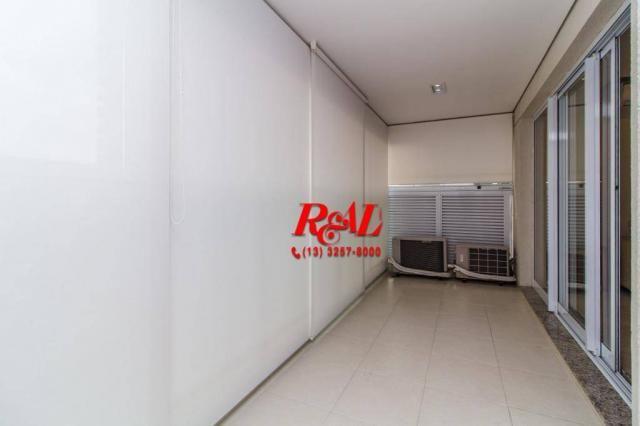 Apartamento com 1 dormitório para alugar, 53 m² por R$ 3.200,00/mês - Ponta da Praia - San - Foto 8
