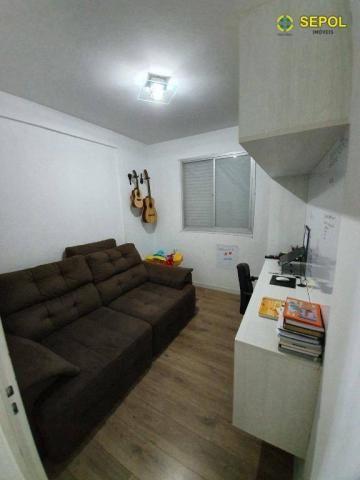 Apartamento com 3 dormitórios à venda por R$ 360.000,00 - Vila Carrão - São Paulo/SP - Foto 3