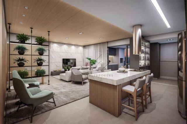 Apartamento com 3 dormitórios à venda, 105 m² por R$ 630.000,00 - Bravie - Cuiabá/MT