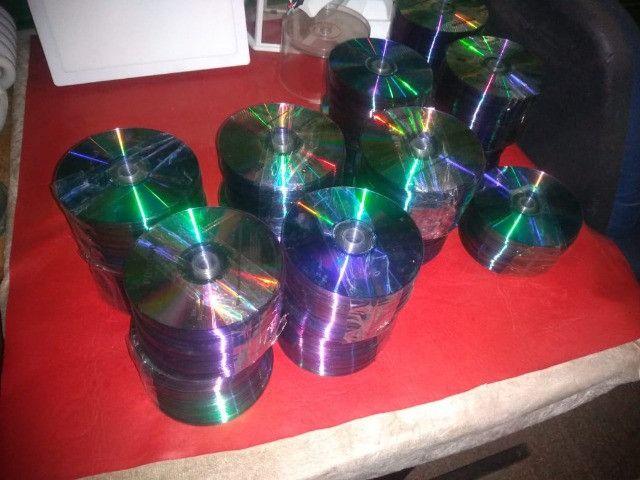 1.000 CDs usados para artesanato