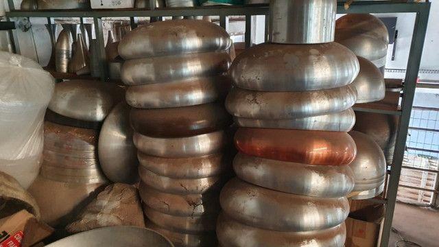 Queima de estoque! Vendem-se vários repuxos de alumínio para confecção de luminárias - Foto 3