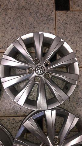 Jogo de rodas aro 15 Original VW - Foto 3