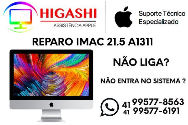 Reparo iMac 21.5 Modelo A1311 - Higashi Assistência Técnica Apple