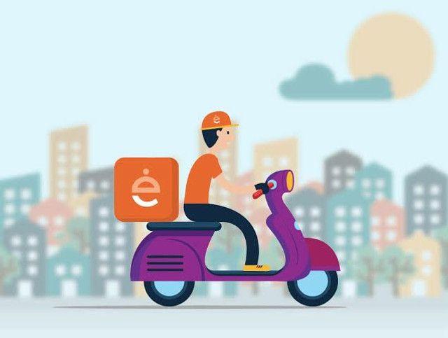 Vaga pra entregador com moto na região do garavelo