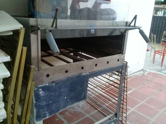 Forno Grande industrial para assar Pizzas - Foto 2