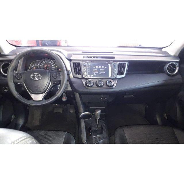Toyota/ Rav4 2.0 4x2 automática gasolina 14/15 completa - Foto 2