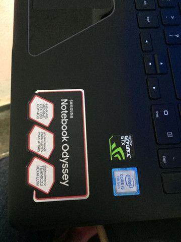 Notebook Gamer Odyssey Gtx 1050 4gb Core I7-7300hq 8gb Ddr4 - Foto 5