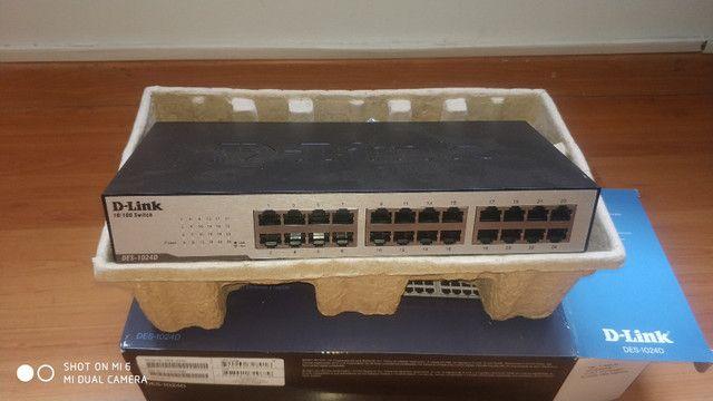 Switch D-Link DES-1024D - Foto 2