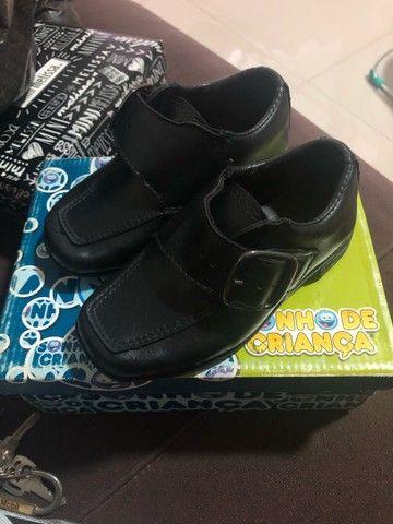 Sapato social infantil tam 23