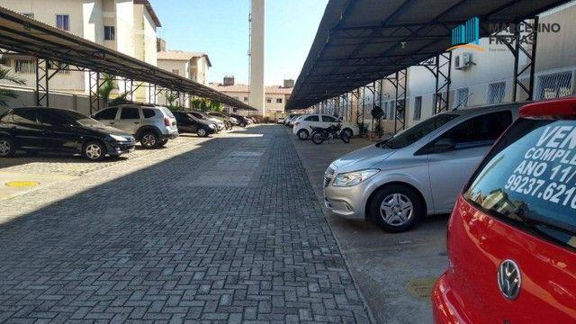 Apartamento com 2 dormitórios para alugar, 44 m² por R$ 809,00/mês - Vila Velha - Fortalez - Foto 2