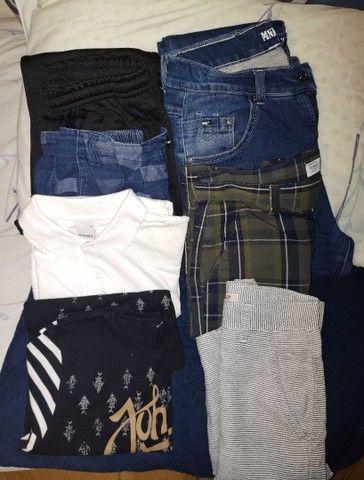 Vendo roupa infantil tam.14,16,PP e 40 usado uma única vez masculina  - Foto 3