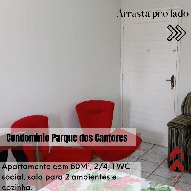 apartamento com 50M², 2/4, barro duro