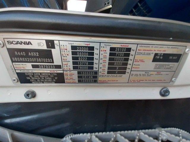 Scania R440 2015 6x2  - Foto 3