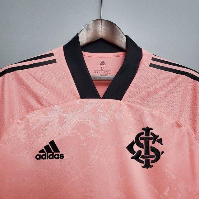 Camisa do Internacional Outubro Rosa - Foto 2