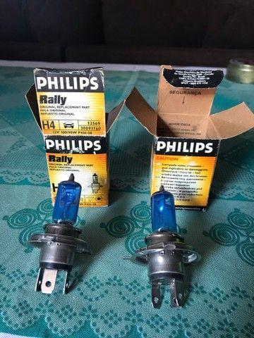 Lâmpada de 100 watts Philips rally