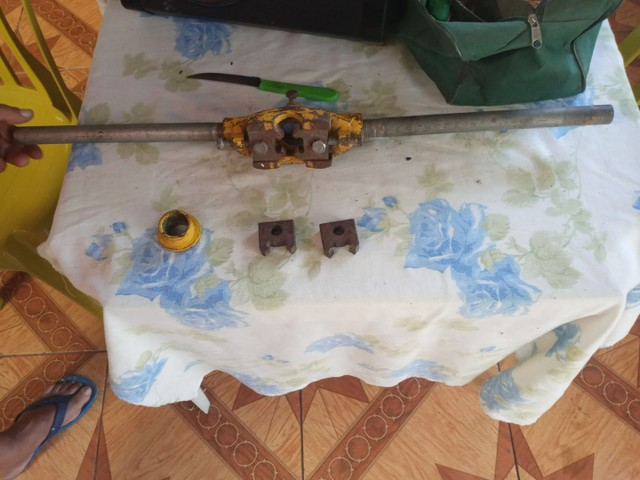 Vendo tarraxa  de fazer rosca em cano  - Foto 4
