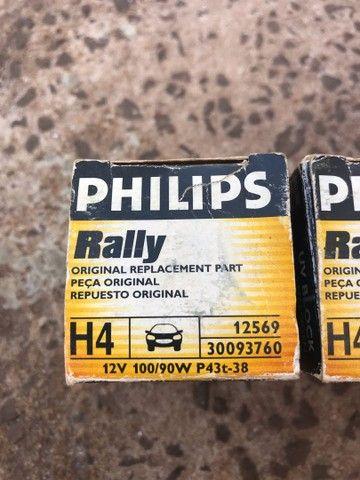 Lâmpada de 100 watts Philips rally - Foto 4