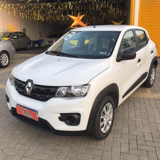 *Renault Kwid 1.0 flex baixo km 2018*Ótimo para aplicativo!!! - Foto 6