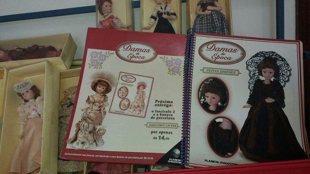 damas de epoca..porcelana..+ livro ediçao completo - Foto 5