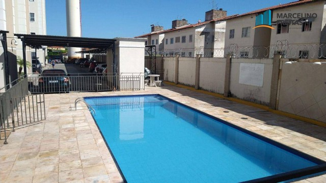 Apartamento com 2 dormitórios para alugar, 44 m² por R$ 809,00/mês - Vila Velha - Fortalez - Foto 5