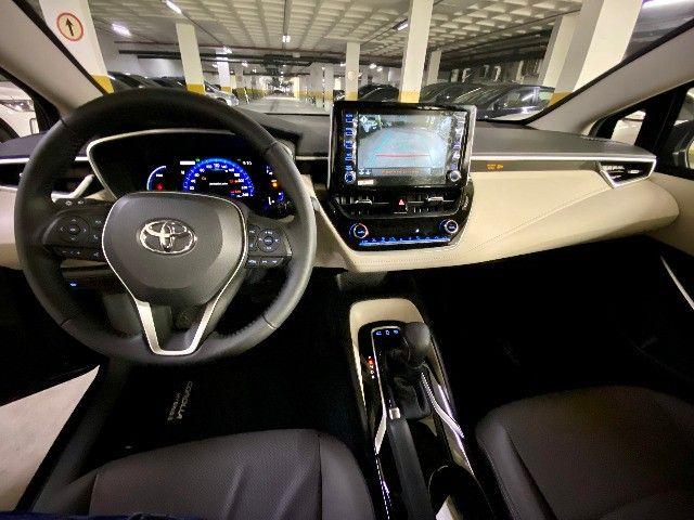 Toyota Corolla Altis Hybrid Blindado Teto Solar Okm Pronta Entrega - Foto 13