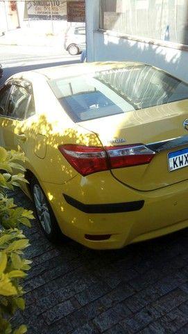 Corolla gli 1.8 2016  ex táxi muito novo valor do anúncio com pequena entrada - Foto 3