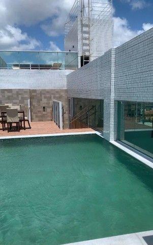 Flat para aluguel por temporada na orla do Jardim Oceania em João Pessoa - Foto 3