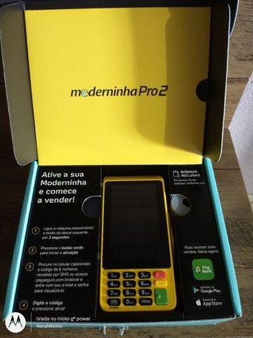Máquina de Cartão PagSeguro Pro 2