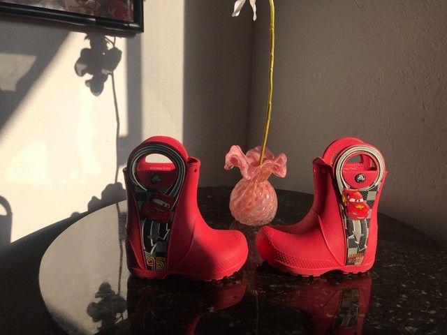 Galocha/bota crocs infantil c7 - Foto 4