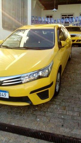 Corolla gli 1.8 2016  ex táxi muito novo valor do anúncio com pequena entrada - Foto 11