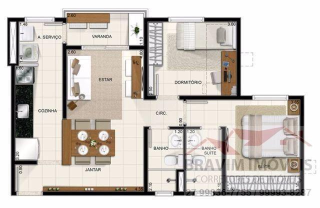 Apartamento de 2 quartos no Villággio - Foto 8