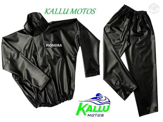 Capa de Chuva moto promoção conjunto kallu motos Niteroi