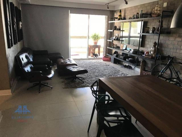 Amplo apartamento mobiliado no joão paulo com linda vista para o mar, 3 suítes, sacada e 3 - Foto 6