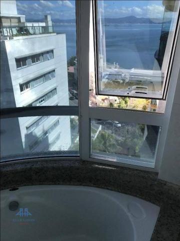 Amplo apartamento mobiliado no joão paulo com linda vista para o mar, 3 suítes, sacada e 3 - Foto 17