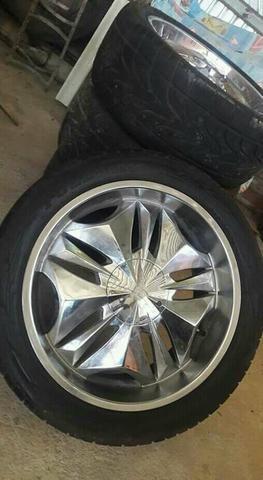 Aros 22 com pneus