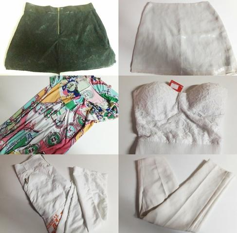 a06f18e8d41 Lote kit de roupas feminina masculina 20 peças brechó bazar revenda ...