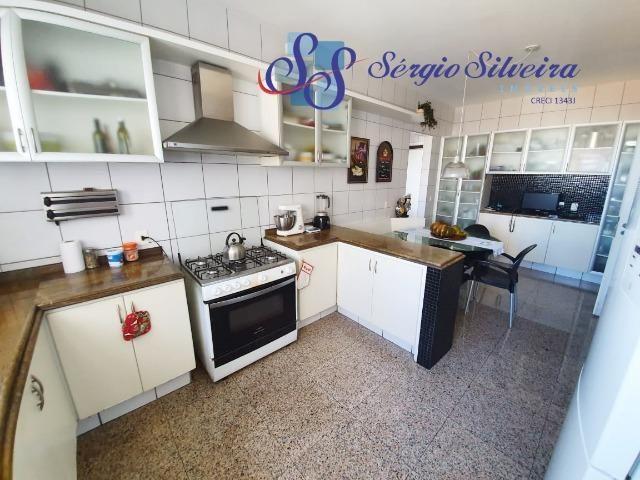 Apartamento na Aldeota com 4 suítes todas com closet, amplo e ventilado, nascente 4 vagas - Foto 6