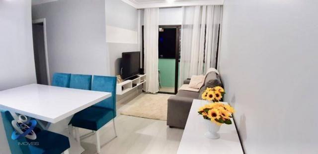 Apartamento com 3 dormitórios à venda, 62 m² por r$ 275.000 - jardim américa - são josé do