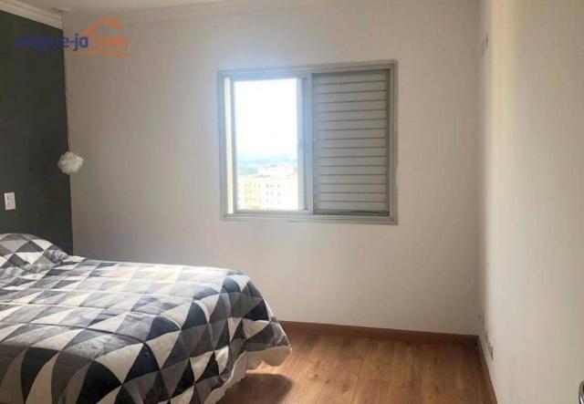 Apartamento com 3 dormitórios à venda, 120 m² por r$ 450.000 - vila adyana - são josé dos  - Foto 18