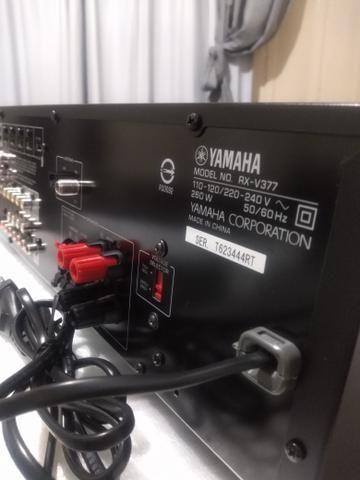 Receiver Yamaha rx-v377( leia anuncio)