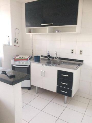 Apartamento com 2 dormitórios à venda, 57 m² por r$ 180.000 - parque residencial flamboyan - Foto 13