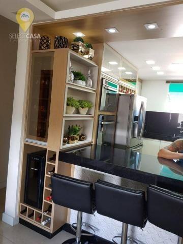 Excelente apartamento em bairro de fátima/jardim camburi 3 quartos - Foto 4